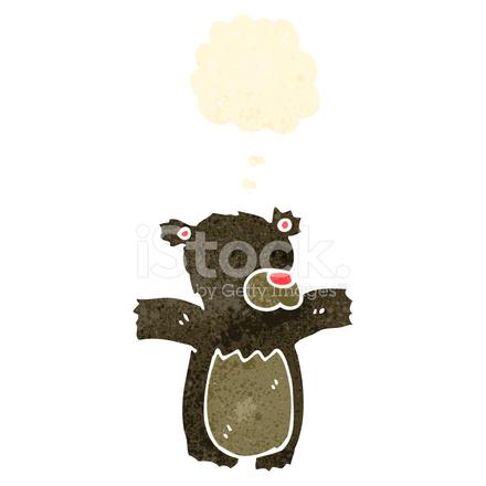 Retrò cartone animato orsetto stock vector freeimages.com