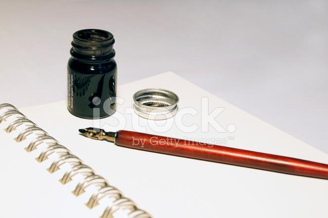 Calligraphy Equipment Stock Photos