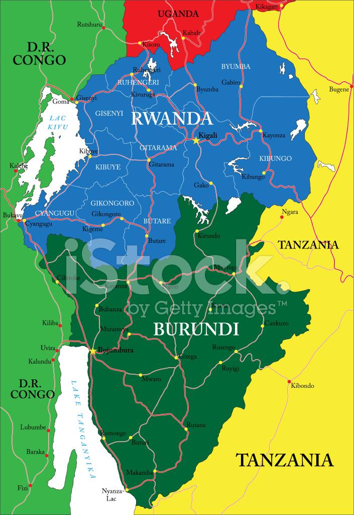 Mapa de rwanda stock vector freeimages mapa de rwanda gumiabroncs Image collections