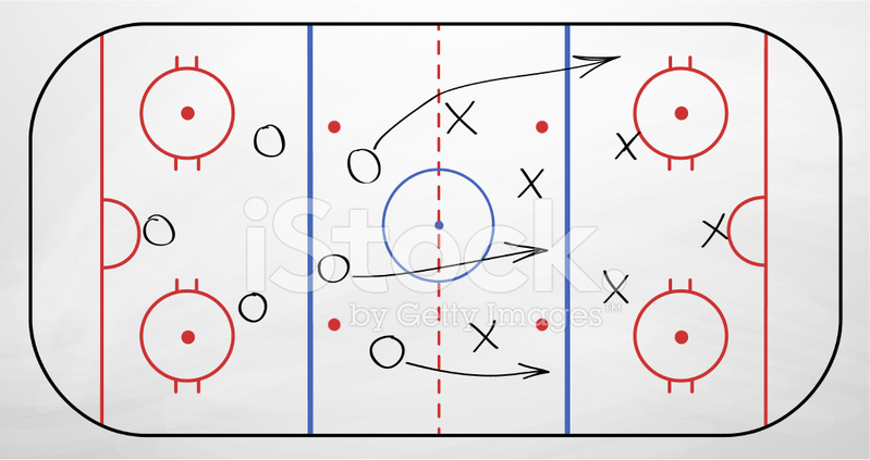 hockey play over board stock vector freeimages com hawk clipart black hawk clip art black and white