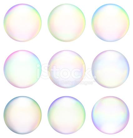 soap bubbles royalty free vector icon set set amp variety