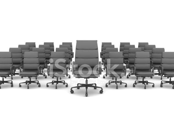 Moderne Burostuhle Auf Weissem Hintergrund Stockfotos Freeimages Com