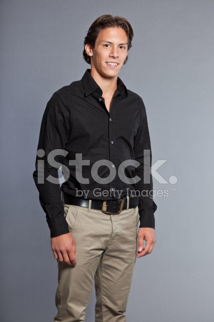 Schwarzes Teenager-Gesicht