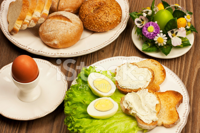Traditional Easter Breakfast Stock Photos - FreeImages.com