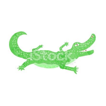 Crocodile dessin anim stock vector - Dessin anime crocodile ...