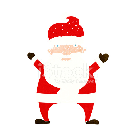 cartoon ugly santa claus stock vector - freeimages