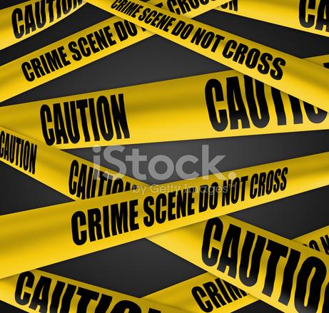 犯罪現場和謹慎的警戒線磁帶庫存相片- FreeImages.com