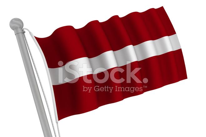 bandeira da letónia na pole fotos do acervo freeimages com