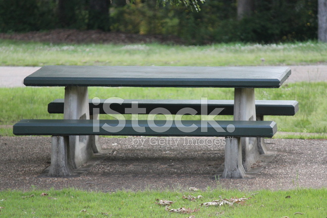 Picnic table stock photos for 10 person picnic table