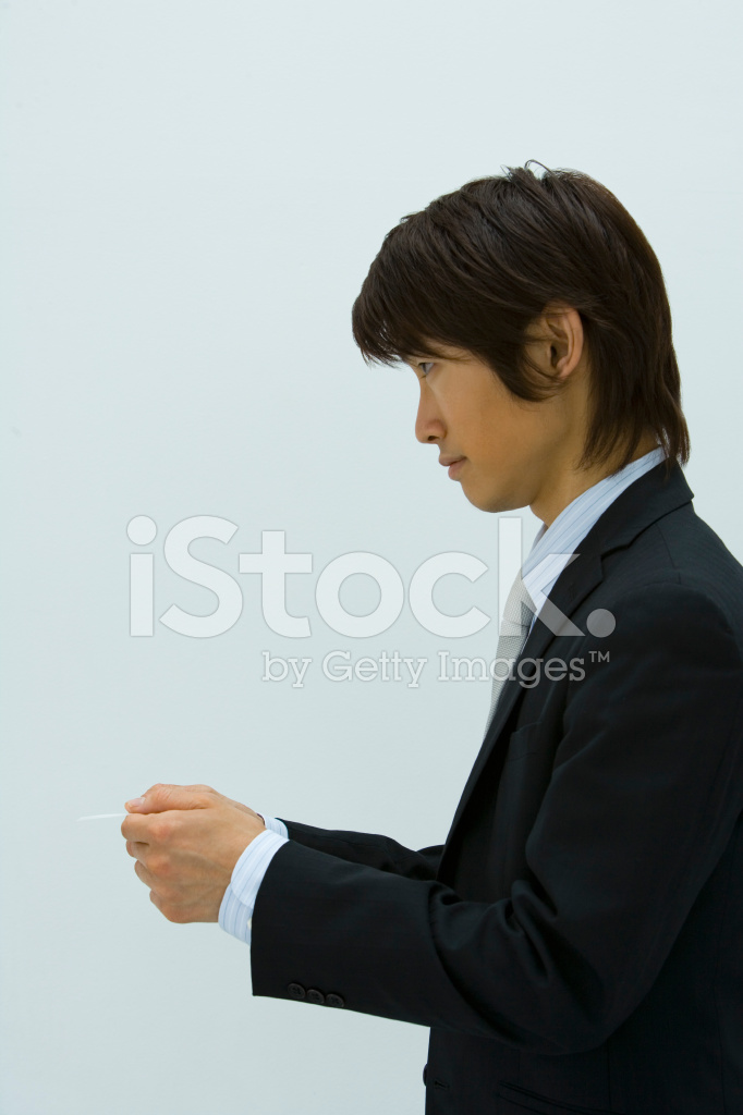 Man Handing Business Card Stock Photos - FreeImages.com