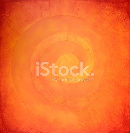 warme farben malerei, spiral malerei in warmen farben stock vector - freeimages, Innenarchitektur