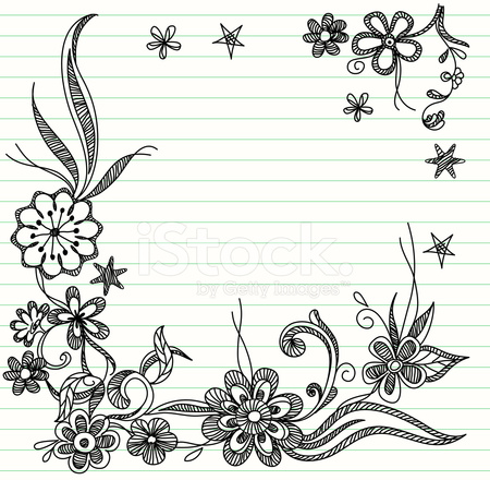 doodle template stock vector freeimages com