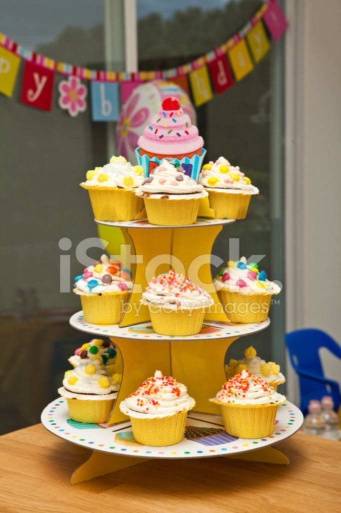 Various Cupcakes On A Stand Stock Photos Freeimages Com