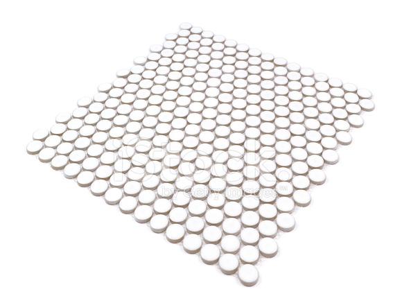 Weißen Kreisförmigen Mosaik Fliesen Bord Stockfotos FreeImagescom - Fliesen mosaik rund