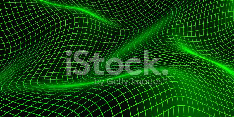 Wireframe Background Stock Photos