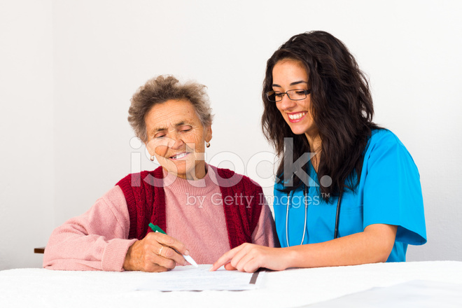 Agreement To Nursing Home Stock Photos Freeimages