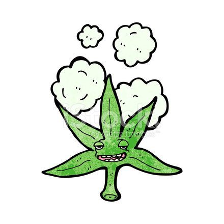Personaje DE Dibujos Animados DE Hojas DE Marihuana fotografas de