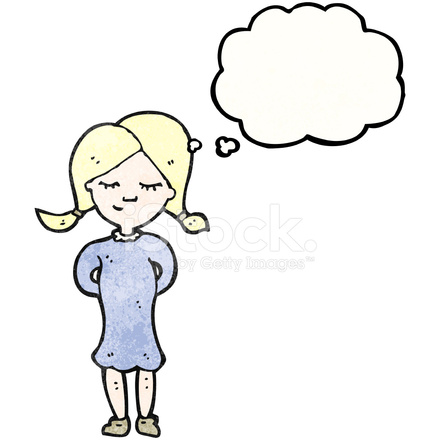 cartoon blond girl thinking stock vector freeimages com free turkey clip art images free turkey clip art funny