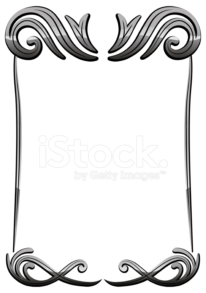 Marco Negro Vintage Decorativo Vector 02 Stock Vector - FreeImages.com