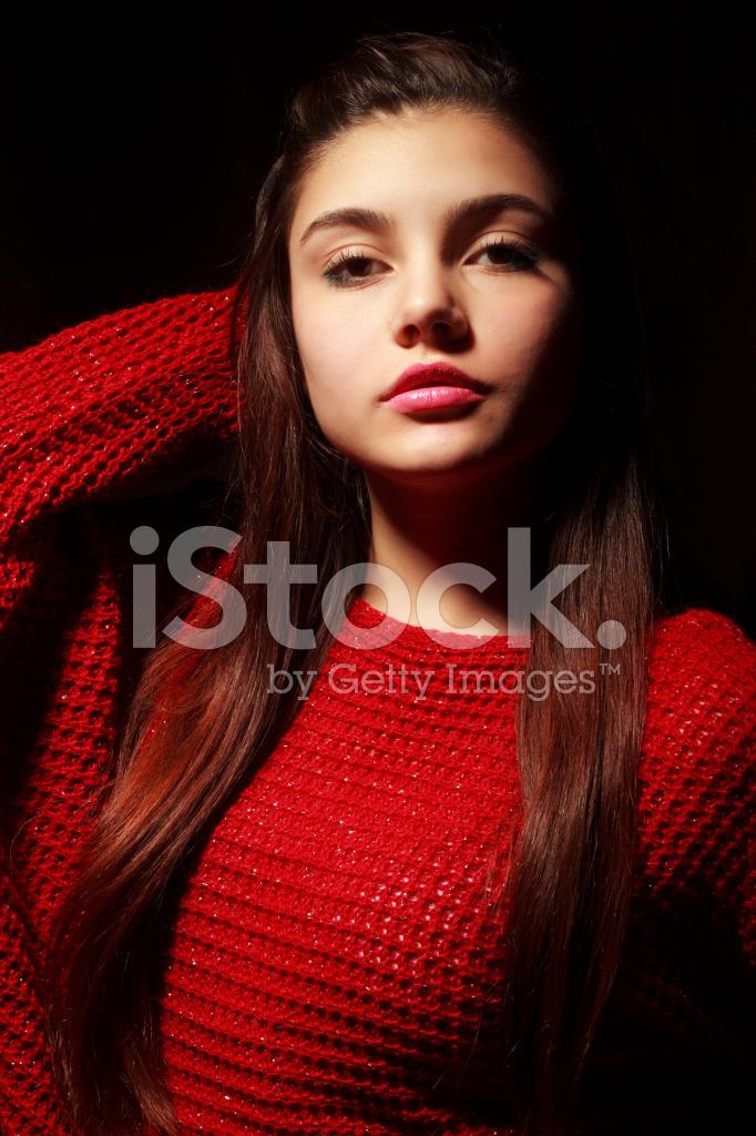 tonårs flicka sexigt Foto