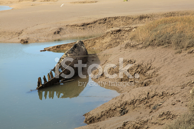 Sandy Mud And Rotten Boat Stock Photos Freeimages Com