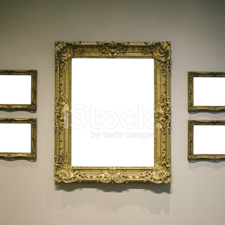 Art Gallery Frames (clipping Path) Stock Photos - FreeImages.com