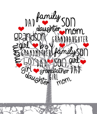 family photo design