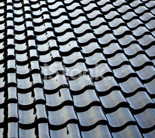 Shiny Black Roof Stock Photos Freeimages Com
