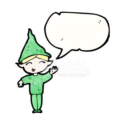 duende do desenho animado feliz natal stock vector freeimages com