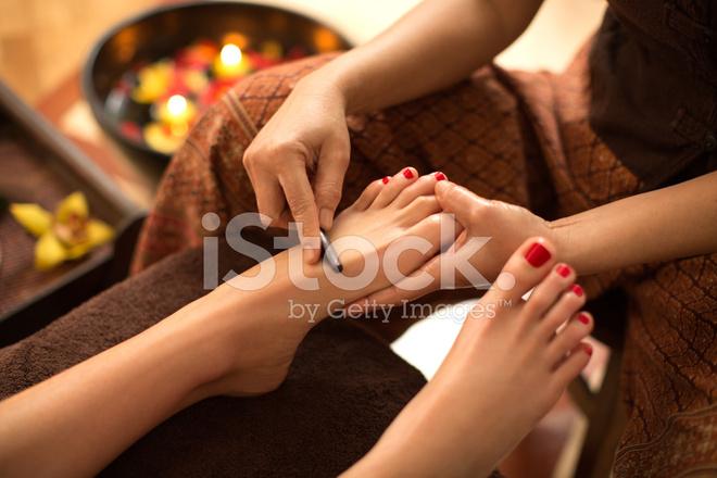 East asian foot reflexology