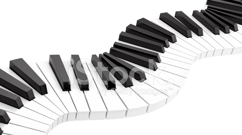 Curvy Piano Keyboard stock photos - FreeImages.com