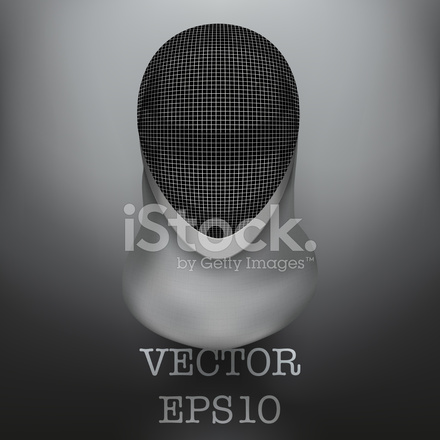 Fencing Mask Vector Background Illustration stock photos ...