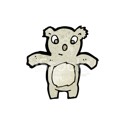 Koala De Dessin Anime Stock Vector Freeimages Com