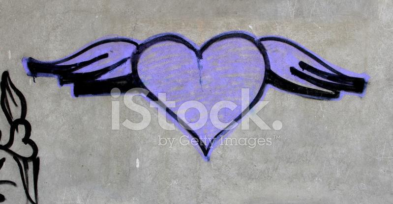 Kalp Graffiti Stok Fotoğrafları Freeimagescom