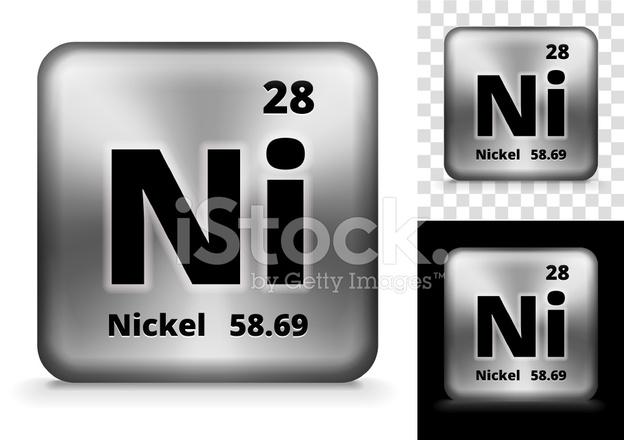 Nikkel Square Element Achtergrond Set Stock Vector Freeimages