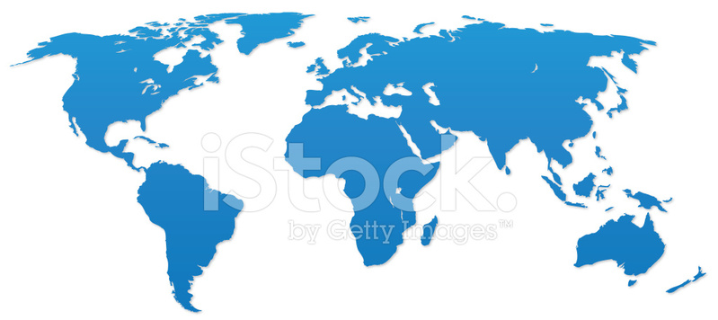 World Map Silhouette Stock Vector Freeimages Com