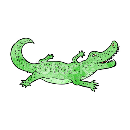 Crocodile dessin anim stock vector - Dessin anime les crocodiles ...