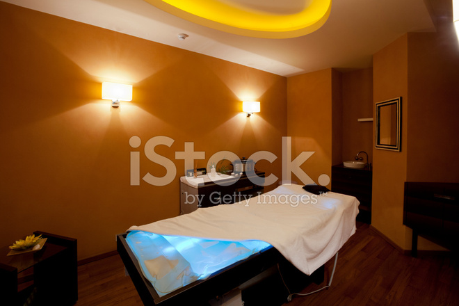 Massage Room In Hotel Spa Center Stock Photos Freeimages Com