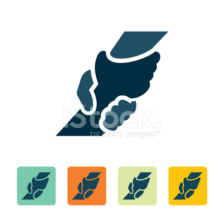 Helping Hand Icon Stock Vector Freeimages Com