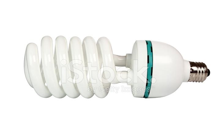 Dag Licht Lamp : Foto fluorescerende daglicht energiebesparende lamp spiraal k