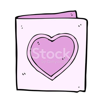 Cartoon Love Heart Card Stock Vector Freeimages Com