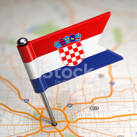 Chorwacja Male Flagi Na Tle Zdjecia Ze Zbiorow Freeimages Com