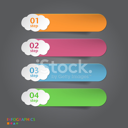 infographics banner label tag designs stock vector freeimages com