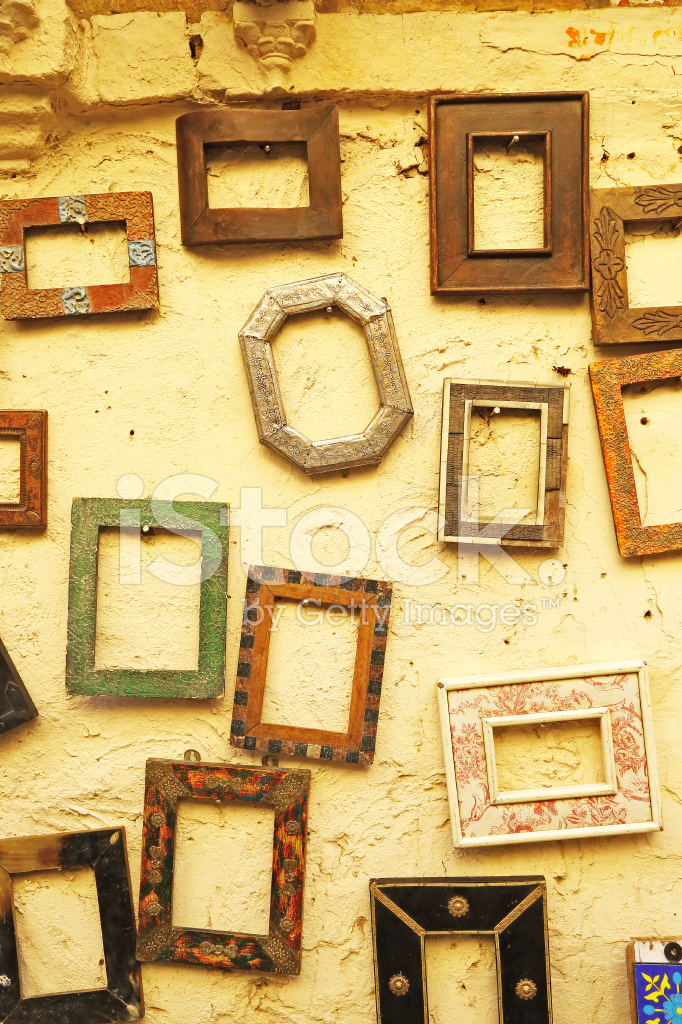 Hanging Frames On Sale In Jaisalmer India Stock Photos Freeimages