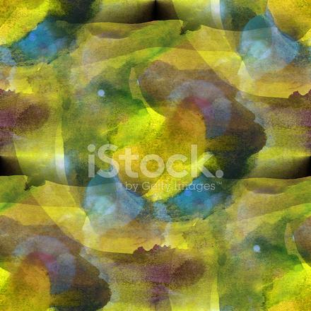 Bunte Muster Wasser Textur Zu Zeichnen Abstrakt Gelb Grün Blu