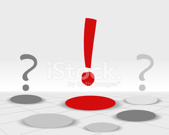 dexclamation attention rouge stock vector freeimagescom