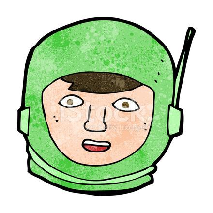 Cartoon Astronaut Head stock photos - FreeImages.com