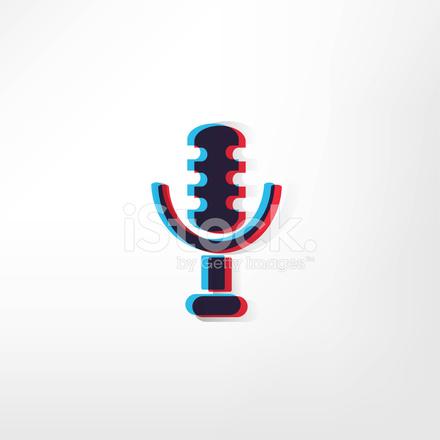 Mikrofonsymbol Stock Vector - FreeImages.com