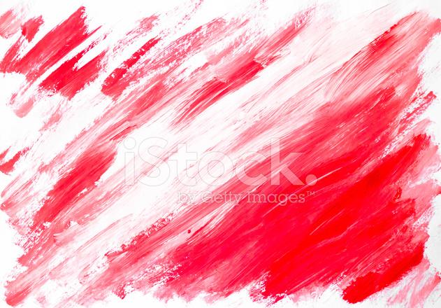 Astratto Sfondo Bianco Rosso Dipinto Ad Acquerello Fotografie Stock