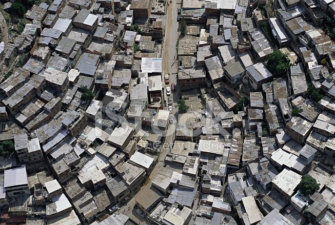 Favela Aerial View Stock Photos Freeimages Com